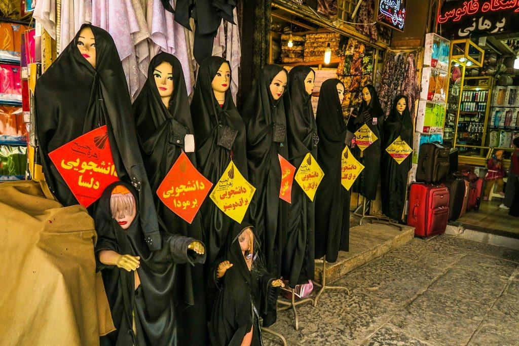 Irańska moda w wersji tradycyjne