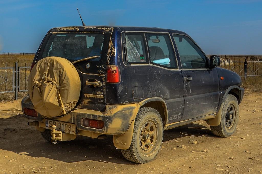 Wyprawowy Nissan Terrano II