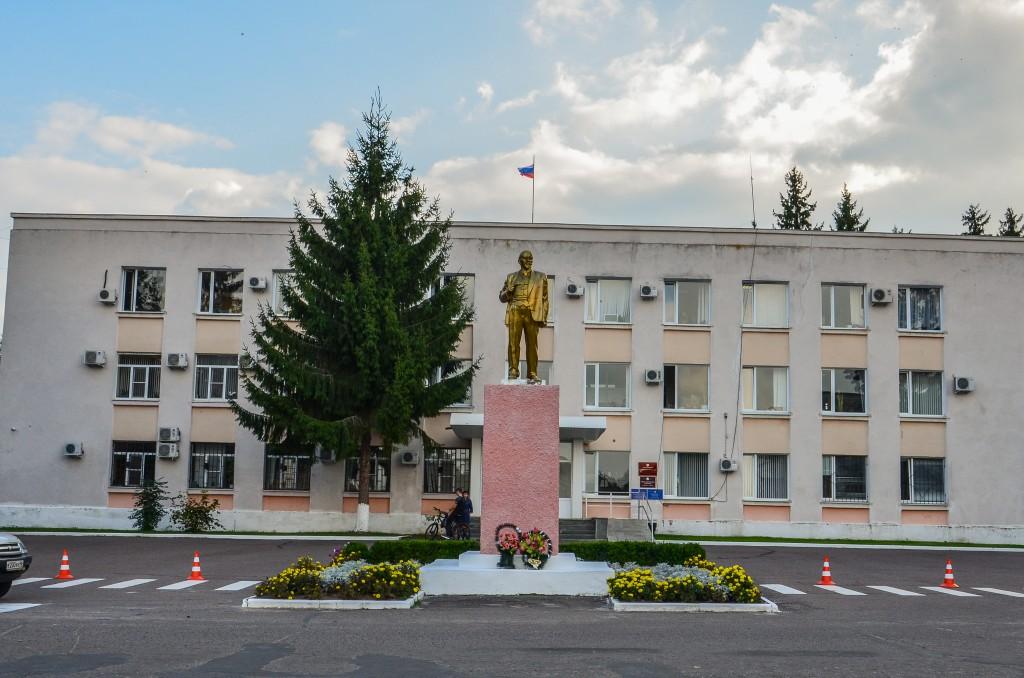Rylsk pomnik Lenina