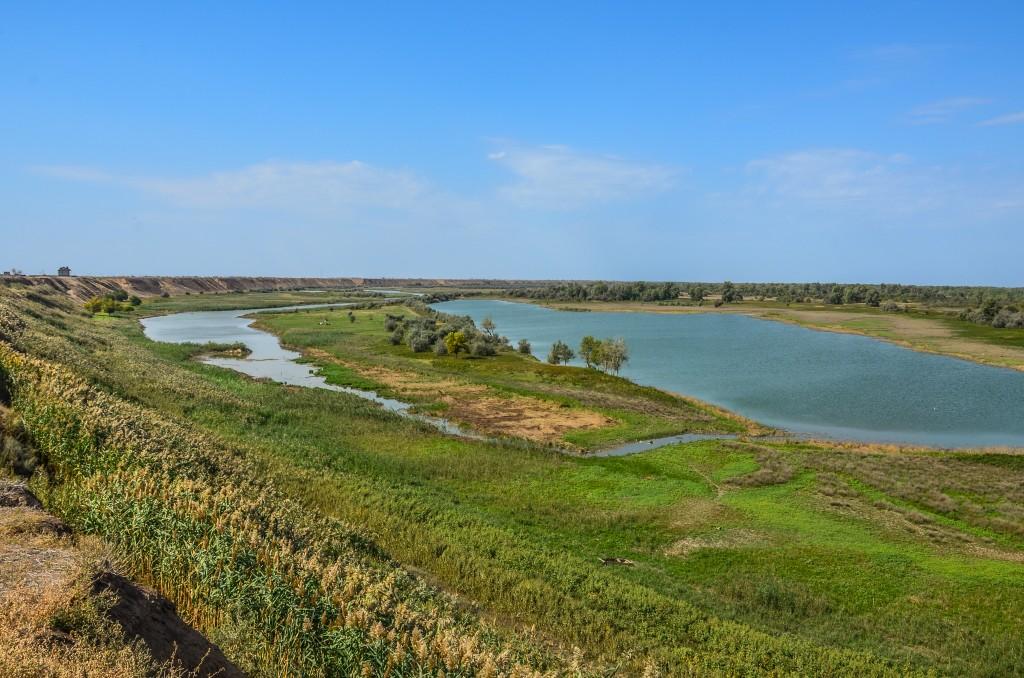 Dolina Wołgi za Wołgogradem