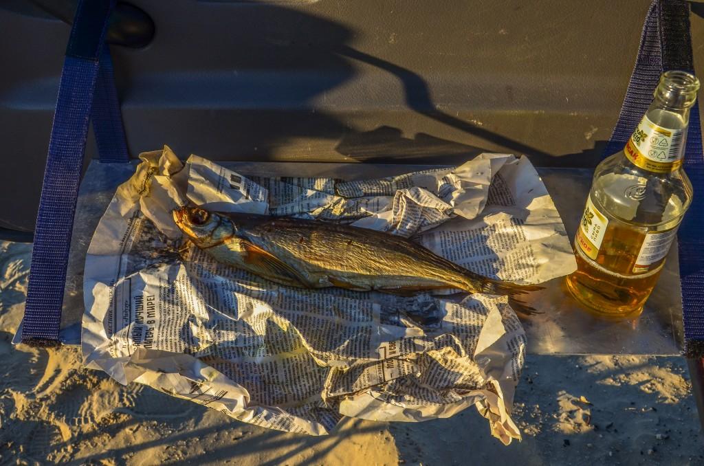 Taranka - suszona ryba