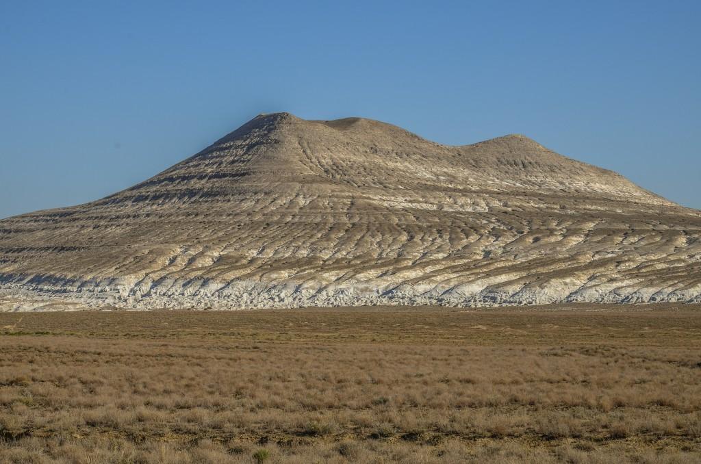 Samotna góra Żalgan. Mangystau