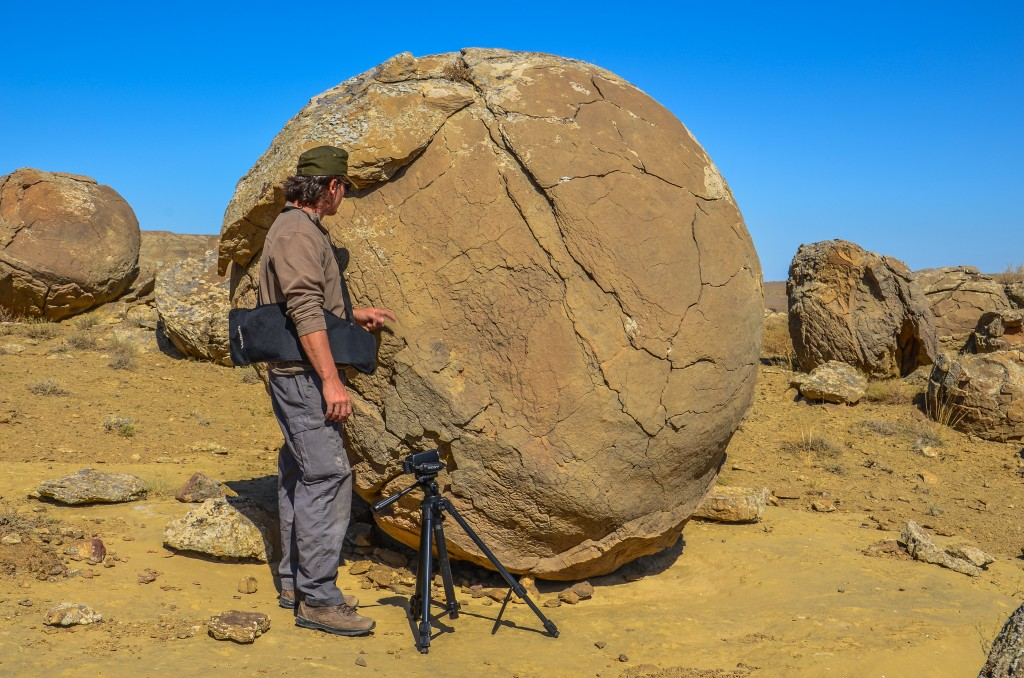 kamienne kule Kazachstan