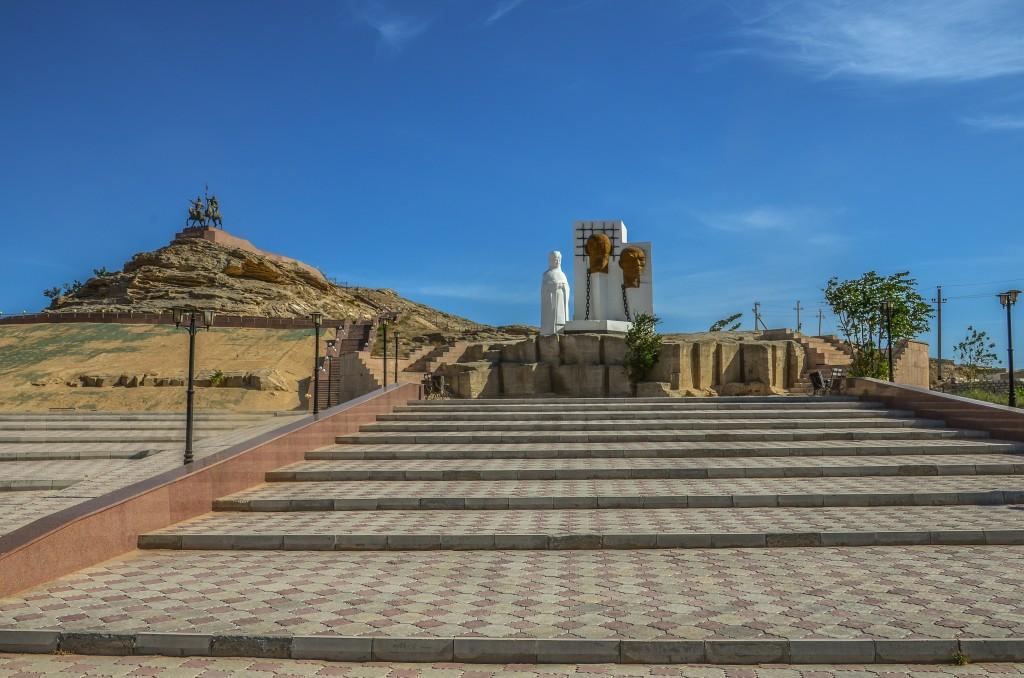 Pomnik ofiar represji Kazachstan