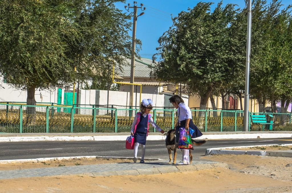 kazachstan dzieci