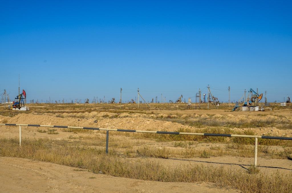 Pola naftowe Mangyszłak Kazachstan