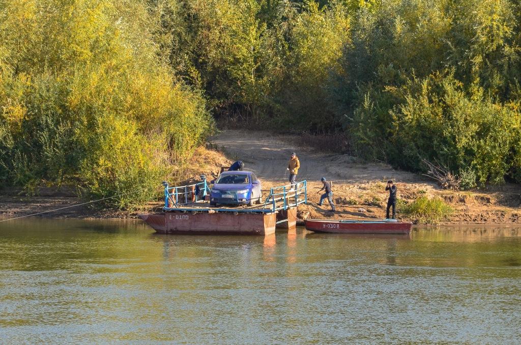 Rzeka Ural Granica Europa-Azja