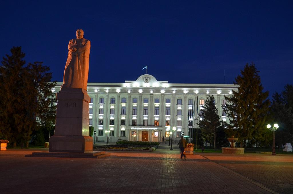 Pomnik Abaja Uralsk Kazakhstan
