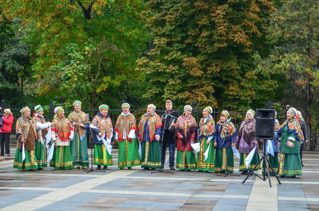 Rosyjskie babuszki zespół ludowy