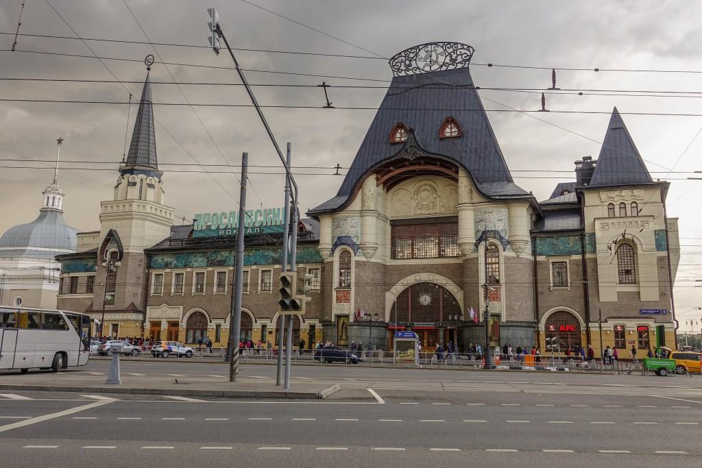 Dworzec Jarosławski w Moskwie