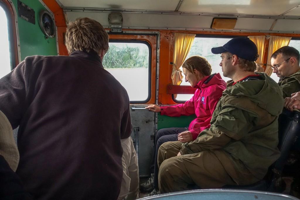 przejazd ciężarówką Ural