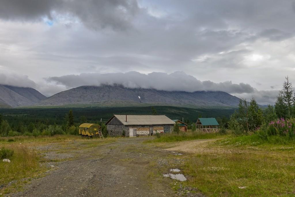 Baza Sanawoż Góry Ural