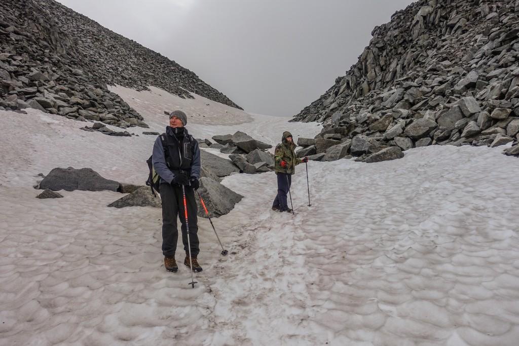 wspinaczka na górę Narodnaja na Uralu Subpolarnym