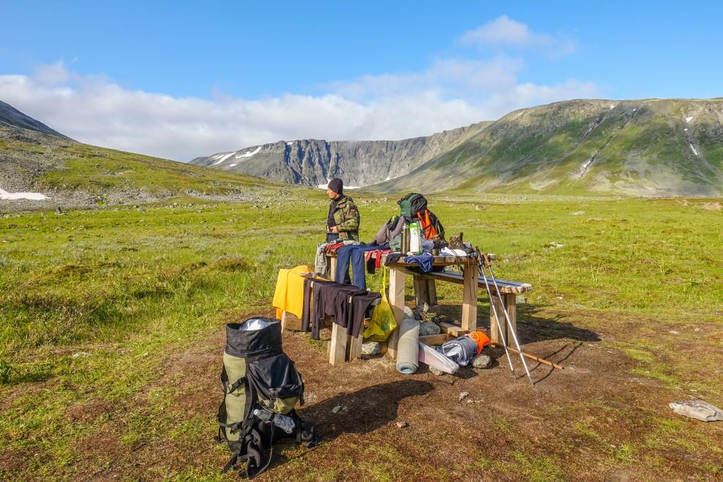 Wyprawa w góry Ural Subpolarny