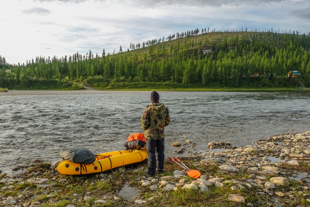 packrafting góry Ural