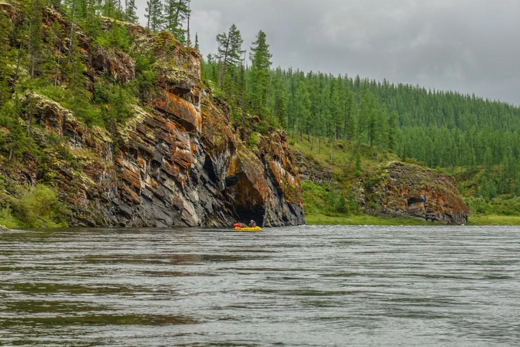 spływ rzeką Kożym na Uralu