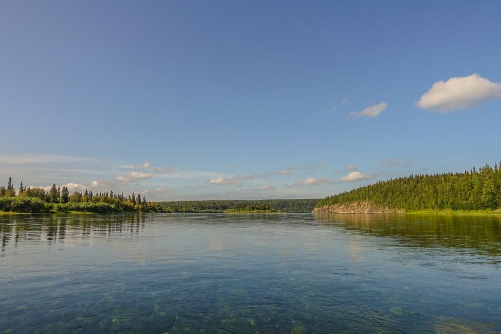 rzeka Kożym Ural subpolarny