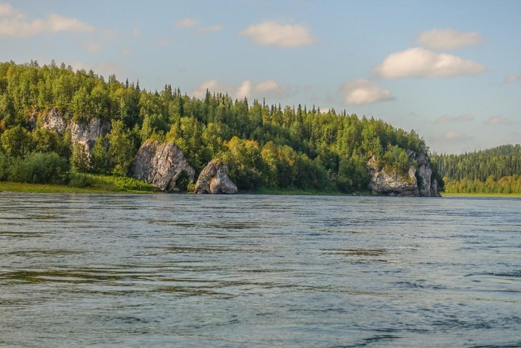 rzeka Ural Rosja
