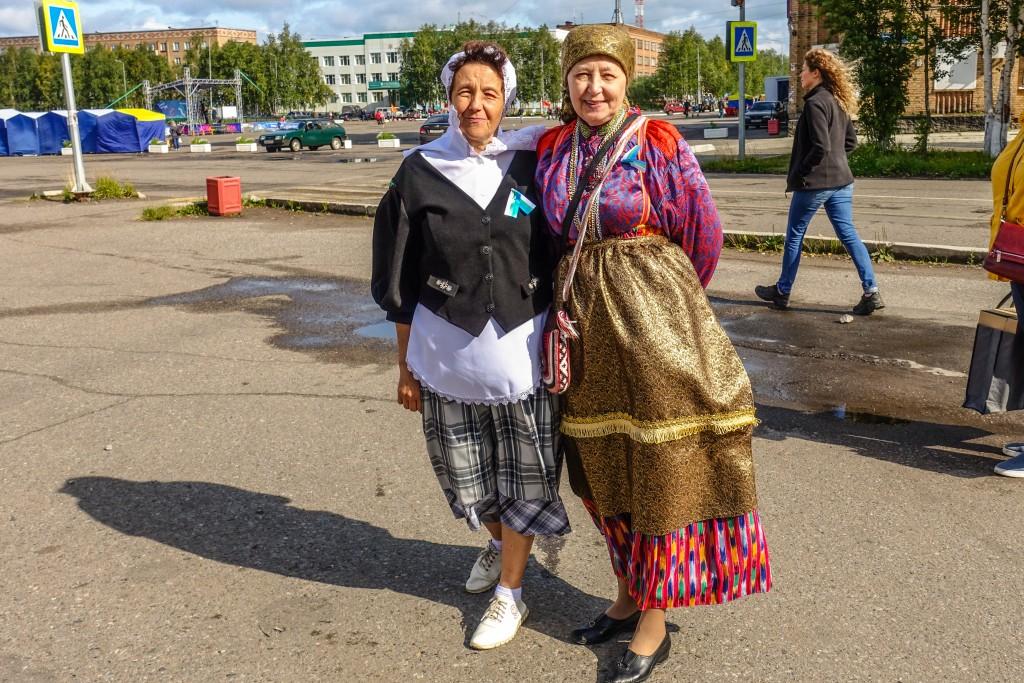 Stroje ludowe Komi Rosja